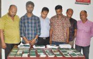 চট্টগ্রাম মহানগর গোয়েন্দা পুলিশ কর্তৃক ৭৮টি অবৈধ পাসপোর্ট'সহ ০৬ আসামী গ্রেফতার
