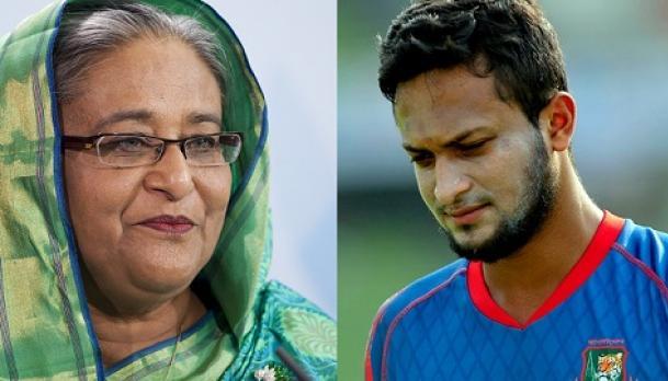 সাকিব আল হাসান ক্রিকেট বিশ্বের বিস্ময় : শেখ হাসিনা