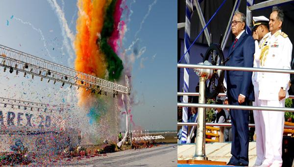 ২১টি দেশের নৌবাহিনীর অংশগ্রহণে বঙ্গোপসাগরে আর্ন্তজাতিক সমুদ্র মহড়ার উদ্বোধন করেন--রাষ্ট্রপতি