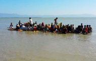 ভেলায় ভেসে নাফ নদী পেরিয়ে অর্ধশত রোহিঙ্গা বাংলাদেশে