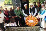 মুক্তিযুদ্ধে শহীদ নাজিম উদ্দিন খানের অবদান চির স্মরণীয় হয়ে থাকবে : কমান্ডার এনামুল হক চৌধুরী