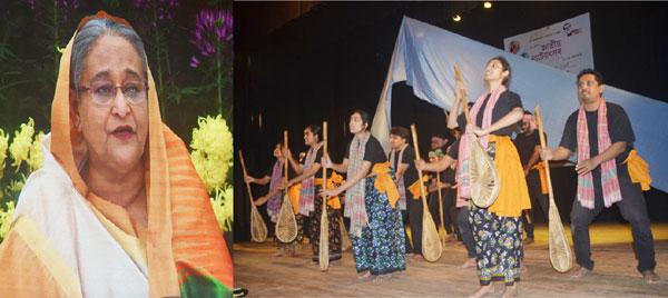 চট্টগ্রামসহ দেশের ৬৪ জেলায় জাতীয় নাট্যোৎসব উদ্বোধন :: সংস্কৃতি চর্চার মাধ্যমেই সমাজ থেকে মাদক ও জঙ্গিবাদ দূর করা সম্ভব ঃ প্রধানমন্ত্রী