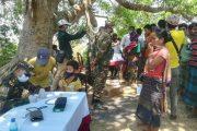 দীঘিনালায় নতুন আক্রান্ত ১৩ :: স্বাস্থ্য বিভাগ সেনাবাহিনীর মেডিক্যাল টিম রথিচন্দ্র কার্বারী পাড়ায়
