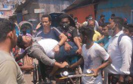 বন্দরটিলা  :: কোস্ট গার্ডের গাড়ীর ধাক্কায় তিন মোটর বাইক আরোহী আহত