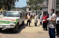 বান্দরবান পৌরসভার ৯টি ওয়ার্ডে মানবিক সহায়তা প্রদান