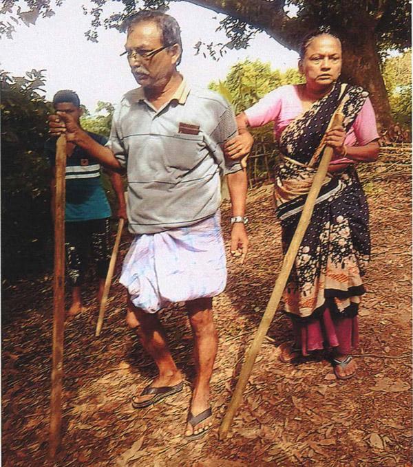 রাঙ্গামাটিতে জমি দখলের অভিযোগে স্বামী-স্ত্রী গ্রেফতার