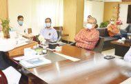 চসিক প্রশাসকের সাথে চট্টগ্রাম বিভাগীয় স্বাস্থ্য পরিচালকের সাক্ষাত