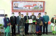 রাঙ্গামাটি জেলায় ২৬৮টি গৃহহীন পরিবারের হাতে পাকা ঘরের চাবি হস্তান্তর