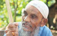 পাহাড় ধসে স্ত্রী ও দু'সন্তান হারিয়ে নির্বাক আব্দুল রশিদ
