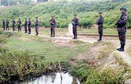 উত্তপ্ত নাইক্ষ্যংছড়ির তুমব্রু সীমান্ত,  সতর্ক অবস্থানে বিজিবি