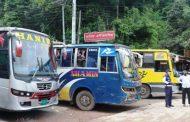 দীর্ঘ ২৫ দিন পর বান্দরবানে গণপরিবহণ চলাচল শুরু