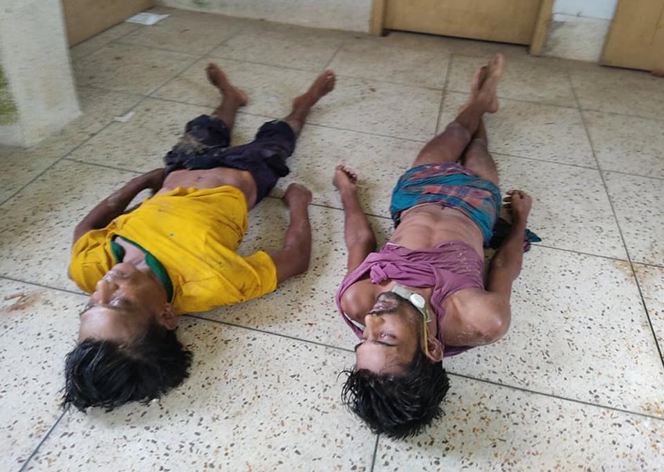 রাঙ্গামাটি মেডিকেল কলেজে নির্মানাধীন পিসিআর ল্যাবে বিদ্যুৎ লাইনের সংস্কার কাজের সময় বিদ্যুৎস্পৃষ্টে দুই শ্রমিকের মৃত্যু